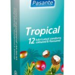 Pasante Tropical: Kondomer 12-pack