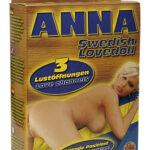 Kärleksdocka svenska Anna